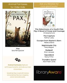 Love this new ready-to-go wide bookmark the NoveList Book Squad created in LibraryAware, don't you?