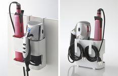 Hair Dryer and Hair Straightener Store - Bedroom Storage Ideas | Drawer Organisers | Drawer Dividers | Vacuum Storage Bags