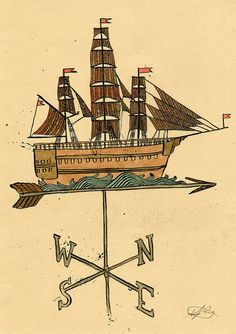 Weathervane by johnalanbirch, via Flickr