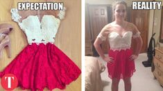 10 Biggest Online Shopping FAILS Prom Dress Fails, Prom Dresses, Formal Dresses, Cyber Monday, Fashion Fail, Fashion Outfits, Fashion Clothes, Yes To The Dress, Dress Up