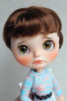 Akleja - OOAK Custom Blythe Doll by Meadowdoll