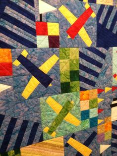 Airplanes in Batik Youth Quilt Custom Order for by lynndalou