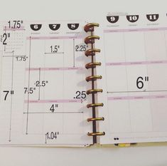 For anyone who needs dimensions on the happy planners by planning_with_mellie