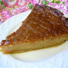 Miraculous Canadian Sugar Pie Recipe - A well-loved brown sugar pie confection from Quebec settles out while baking to form its own crust, a gooey middle layer, and a sugary, crusty topping. Pie Recipes, Sweet Recipes, Dessert Recipes, Cooking Recipes, Cuban Recipes, French Recipes, Vegetarian Cooking, Brown Sugar Pie, Canadian Food