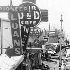 Fourth Avenue, Anchorage, after 1964 earthquake. :: Alaska State Library-Historical Collections