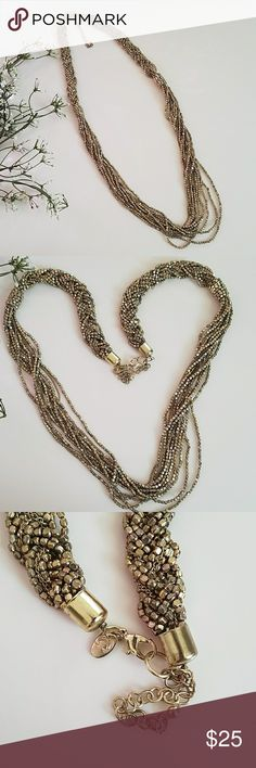 Charming Charlie Long Necklace NWOT Very beautiful BRAND NEW rustic gold look Charming Charlie long necklace. No damages. Let me know if you have any questions. Charming Charlie Jewelry Necklaces