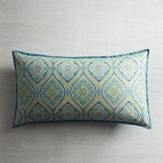 Turquoise Capri Tile Pillow Sham - King