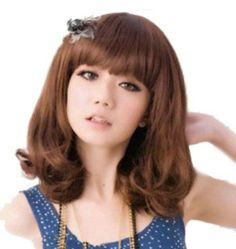 Women's Short Curly Wig (Model: Jf010190) (Light Brown) by cool2day. $20.95. Excellent Quality straight 100%  Japanese Kanekalon (high quality one) made fiber wig. The size is adjustable and no pins or tape should be required. It should be fit on most    people. All you should need to do is adjust the hooks inside the cap to the correct size to suit your head.. You will be amazed by the quality. Wearing it, it can bring you more confidence, and more charm!. Notice:The ...