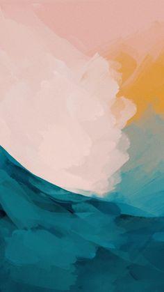 Watercolor Wallpaper Phone, Phone Wallpaper Boho, Graphic Wallpaper, Iphone Background Wallpaper, Painting Wallpaper, Tumblr Wallpaper, Cute Wallpapers For Ipad, Cute Patterns Wallpaper, Aesthetic Wallpapers