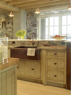 Country/Rustic (Country) Kitchen by James Howard
