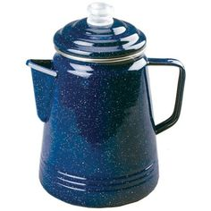 Coleman 2000016405 Blue Enamelware Percolator - 14 Cup * For more information, visit image link.