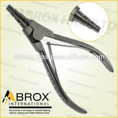 Model Number: AI-PP-114      Stainless Steel Ring opening pliers with 3 grooves     Rings up to 5 mm can be opened with this pliers.     This Pliers is best for Bead Workers, Wire Wrap Artists, Traditional Jewellery Making, Beading and other fine Hobby Work.