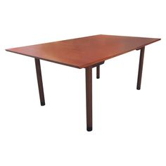 Three Leaf  Dining Table  by Edward Wormley for Dunbar | new on 1stdibs.com #edwardwomley #wormley #dunbar #midcenturymodern #mcm #furniture #diningtable #extensions #table