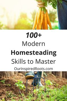 Modern Homesteading Skills to Master (or at least try!) is part of Homesteading skills - Modern homesteading can look many different ways Here's a list of skills that can inspire you to reach your homesteading goals give 'em a try! Homestead Survival, Survival Tips, Survival Skills, Organic Gardening, Gardening Tips, Container Gardening, Texas Gardening, Gardening Vegetables, Modern Homesteading