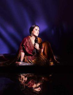 "- 2015-16 Metropolitan Opera - Diana Damrau stars as Leila in Bizet's ""Les Pecheurs de Perles"""