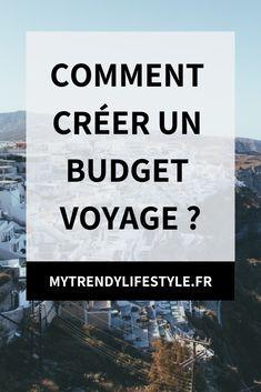 Comment créer un budget voyage ?