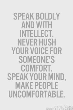 And sometimes you have to be rude when people can't listen to the voice of reason.