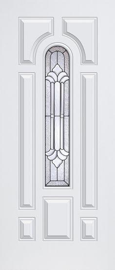 Clopay smooth fiberglass entry door. www.clopaydoor.com.