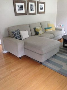Adding legs to a Kivik Sectional