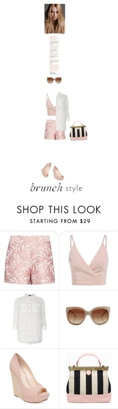 """Brunch"" by alynncameron ❤ liked on Polyvore featuring Exclusive for Intermix, Dorothy Perkins, STELLA McCARTNEY, Jessica Simpson, KAROLINA and brunch"