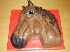 cake horse dort koňská hlava