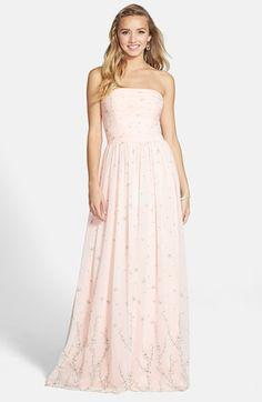 1de2ab377f2 ERIN erin fetherston Flower Print Chiffon Gown