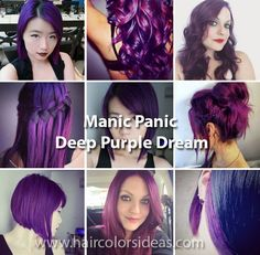 Manic Panic - Hair Colors Ideas