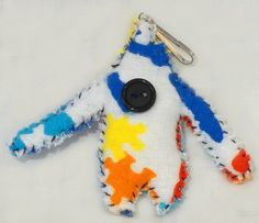 Arthur The Autism Monster Keychain Comfort by HowellJRCompany