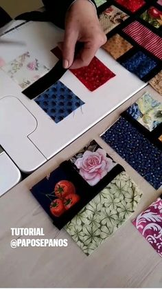 Quilting For Beginners, Quilting Tutorials, Quilting Designs, Sewing Tutorials, Quilting Projects, Patchwork Quilt Patterns, Patchwork Bags, Patchwork Tutorial, Patchwork Fabric