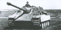 Jagdpanther. Wykorzystywany przez Niemców w czasie drugiej wojny światowej.