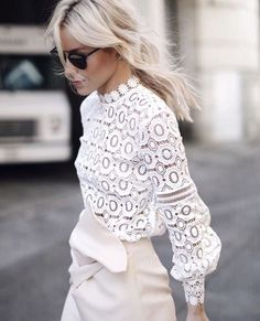 in love with this lace top
