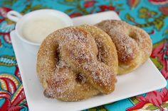 Homemade Soft Pretzel (and cinnamon-sugar pretzel bites)