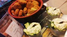 Felafel con salsa tzatziki...sempre un successone!