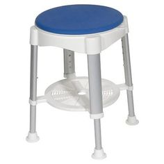 Drive Medical Bath Stool with Padded Rotating Seat - 1 ea
