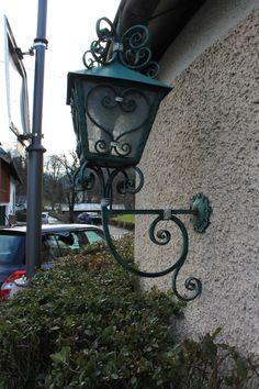 Finding beautiful street lamps around every corner