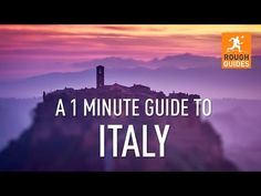 Video: the 1 minute guide to Italy | Travel Feature | Rough Guides