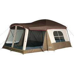 Wenzel Klondike Taupe and Light Gray 8-Person Tent, 16' x 11' $144.97