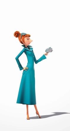 Agent Lucy Wild from Despicable Me 2