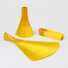 AndreyAndShay melds colourful bristles  to form Monobloc Brushes