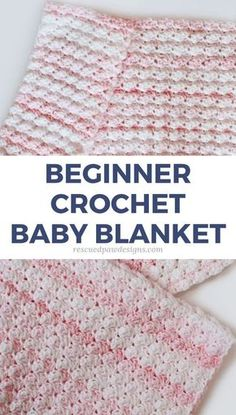 Beginner Friendly Crochet Baby Blanket Pattern using the blanket stitch - Rescued Paw Designs # free crochet patterns for baby blankets easy Blanket Stitch Crochet Baby Blanket Pattern - Easy Crochet Crochet Stitches For Blankets, Crochet Baby Blanket Free Pattern, Crochet Baby Blanket Beginner, Crochet Blanket Patterns, Baby Patterns, Easy Baby Blanket, Crochet Afghans, Crocheted Baby Blankets, Crotchet Baby Blanket