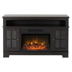 Flamelux Zarate 44.5 in. Electric Media Fireplace - Create a warm, cozy home…