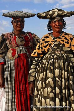 Herero ladies of Namibia