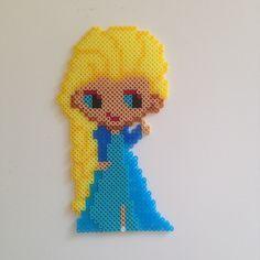 Elsa Frozen hama perler beads by frknoerhede