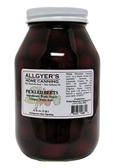Allgyers Dutch-Style Pickled Beets, 32 Oz. Jar (Pack of 4... https://www.amazon.com/dp/B00U1GRDTY/ref=cm_sw_r_pi_dp_rGbyxbQQ4XM5X