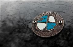 BMW Inspiration : BMW car emblem, showing some weathering. Photo by…Sergey Anashkevitch…. Bmw Isetta, Bmw E39, Bmw Classic Cars, Classic Car Show, Car Badges, Car Logos, Porsche Cars, Bmw Cars, E61 Bmw