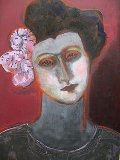 '2.1.2011' (portrait) by artist Selma Weissmann. source: the artist on flickr. via datura