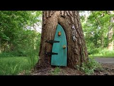 Little girl finds a tiny door on a tree. When she opens it and sees what's inside? WOW! | AmazingPandPh