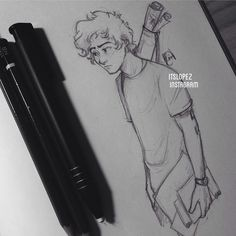 Sleepy Harry by itslopez on deviantART . Character Sketch / Drawing
