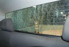 Atacaron a piedrazos a un patrullero de la policía de Villaguay