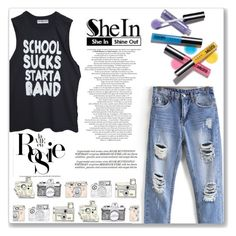 """""""SheIn"""" by yesanastasia666 ❤ liked on Polyvore featuring Whiteley, Avon, Sheinside and shein"""